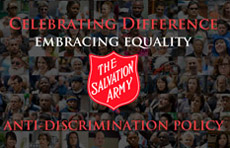 The Salvation Army of Northeast Ohio Anti-Discrimination Policy