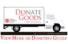Donate Goods To The Salvation Army of Northeast Ohio