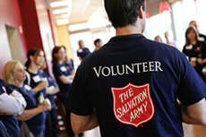 Become A Volunteer With The Salvation Army of Northeast Ohio